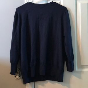 George Other - Dark blue button up cardigan